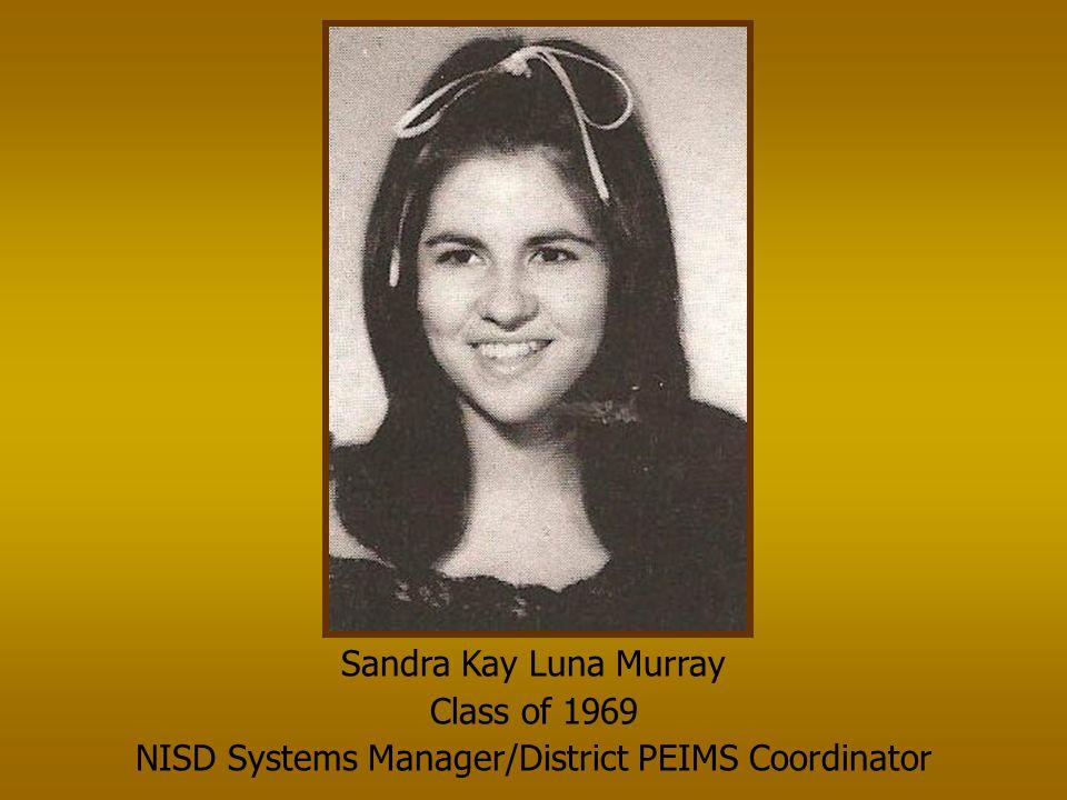 Tonya Grogan Singletary Class of 1980 McMichael Middle School 7 th Grade Math Teacher