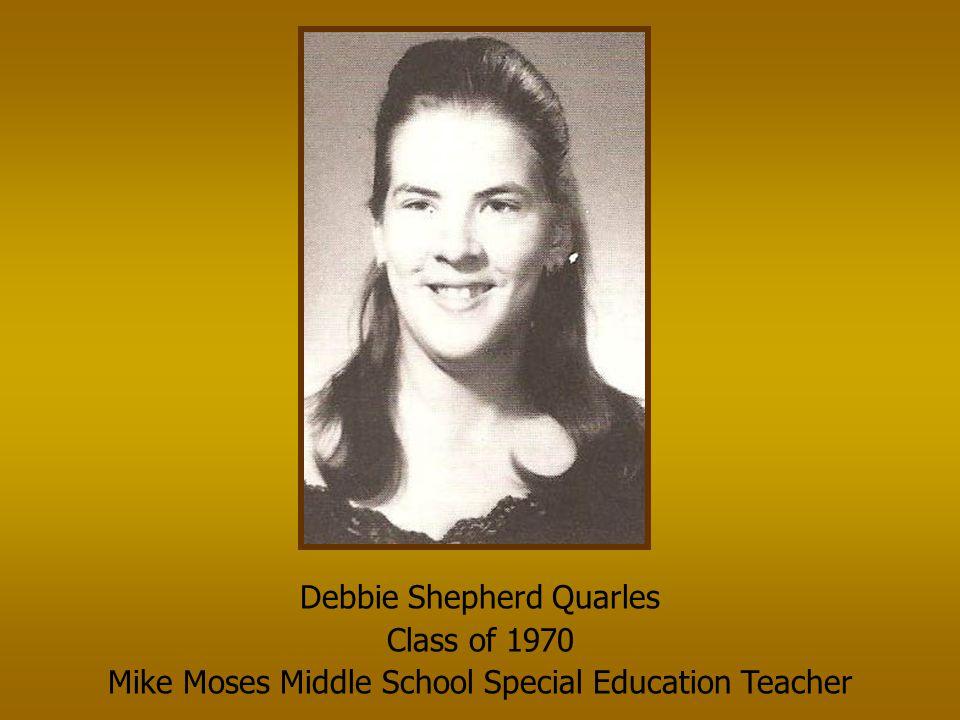 Kathleen Doss Haselden Class of 1970 NHS Science/Chemistry Teacher