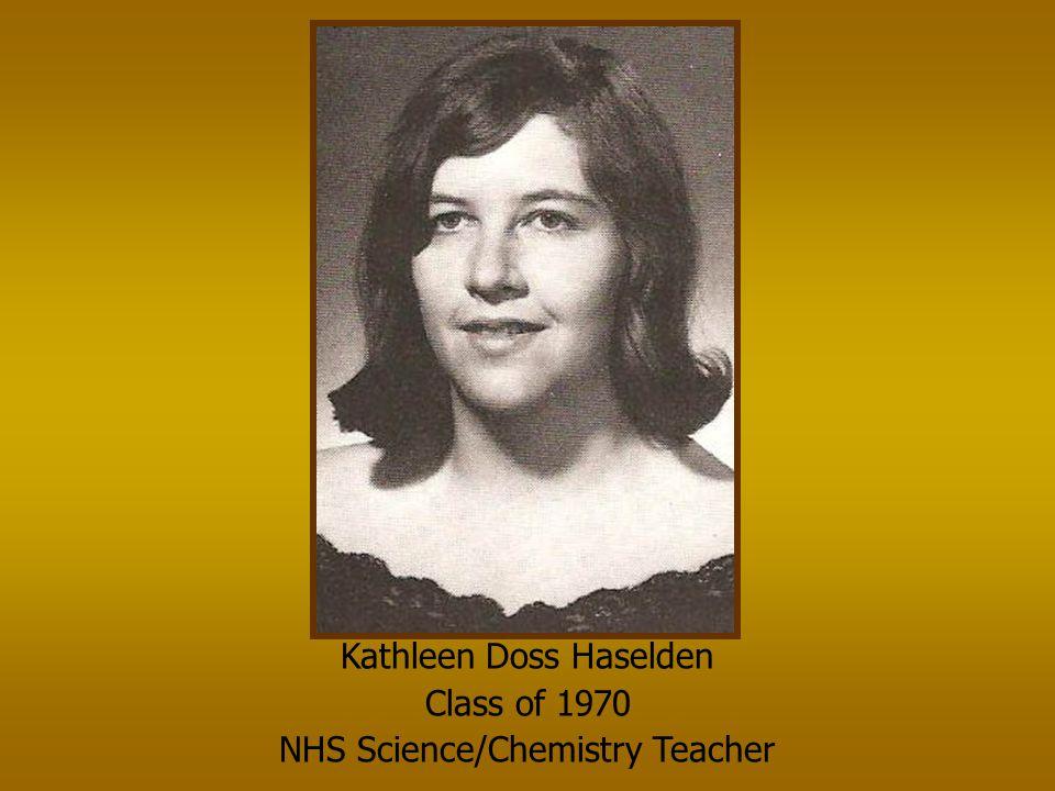 Kenny Martin Class of 1975 NHS Auto Mechanics Teacher