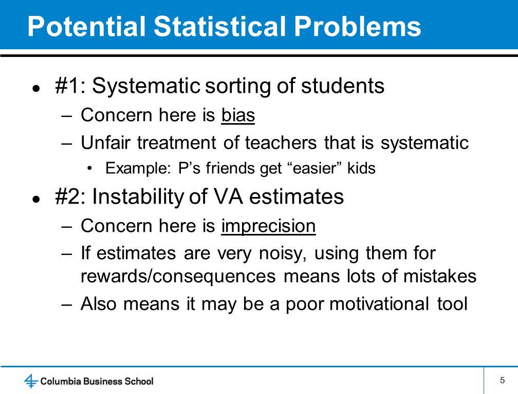 6 Basic Findings from VA Research ● Substantial variation in VA across teachers –1 s.d.