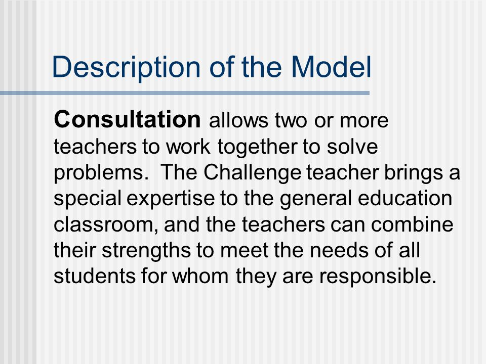 Stages of Resource Consultation* 1.Problem definition.