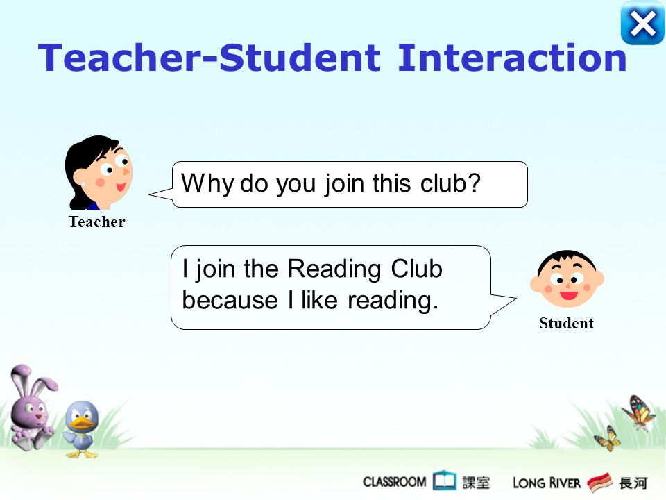 No, I have not joined any school clubs. My parents don't let me. Yes, I have joined one school club. It is the Reading Club. Have you joined any schoo