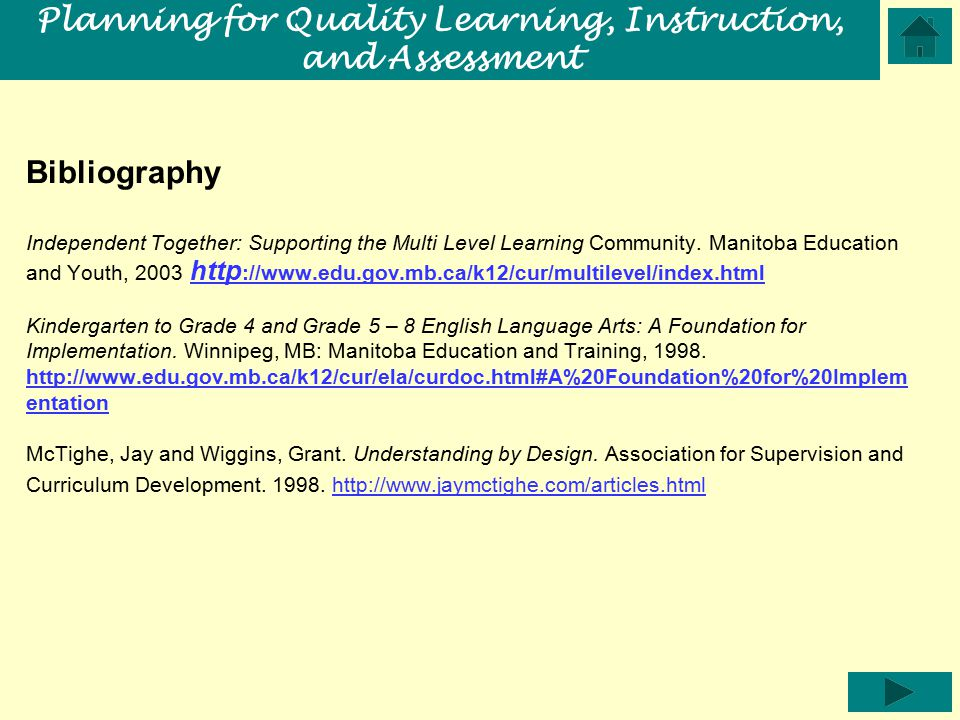 Bibliography Independent Together: Supporting the Multi Level Learning Community.