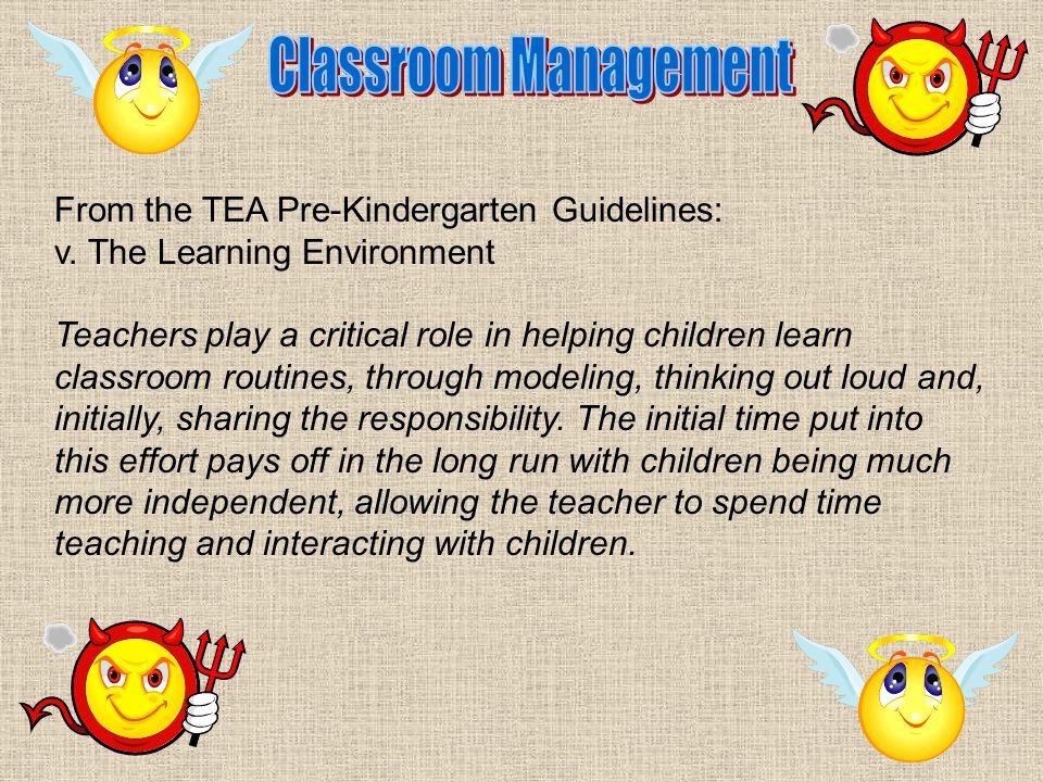 From the TEA Pre-Kindergarten Guidelines: v.