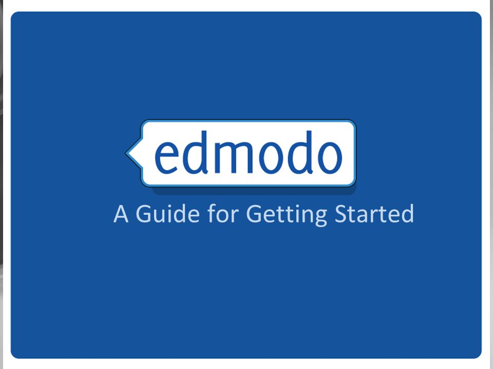 A Guide for Getting Started