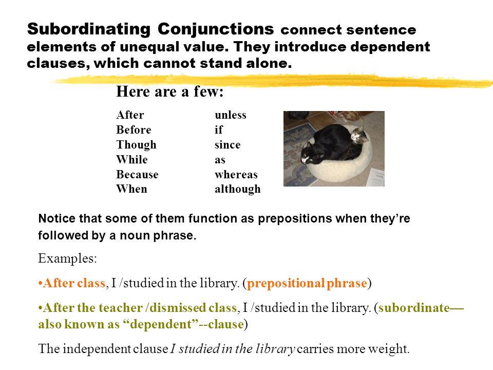 Sentence Elements, con't. zPronouns take the place of nouns.