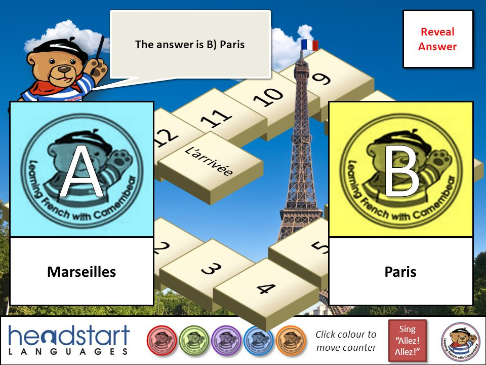 Bonjour les amis! Can your team climb to the top of La Tour Eiffel? Bonjour les amis! Can your team climb to the top of La Tour Eiffel? Click here to
