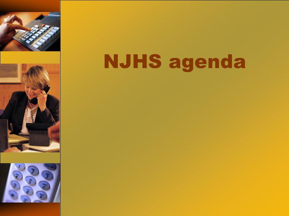 NJHS agenda