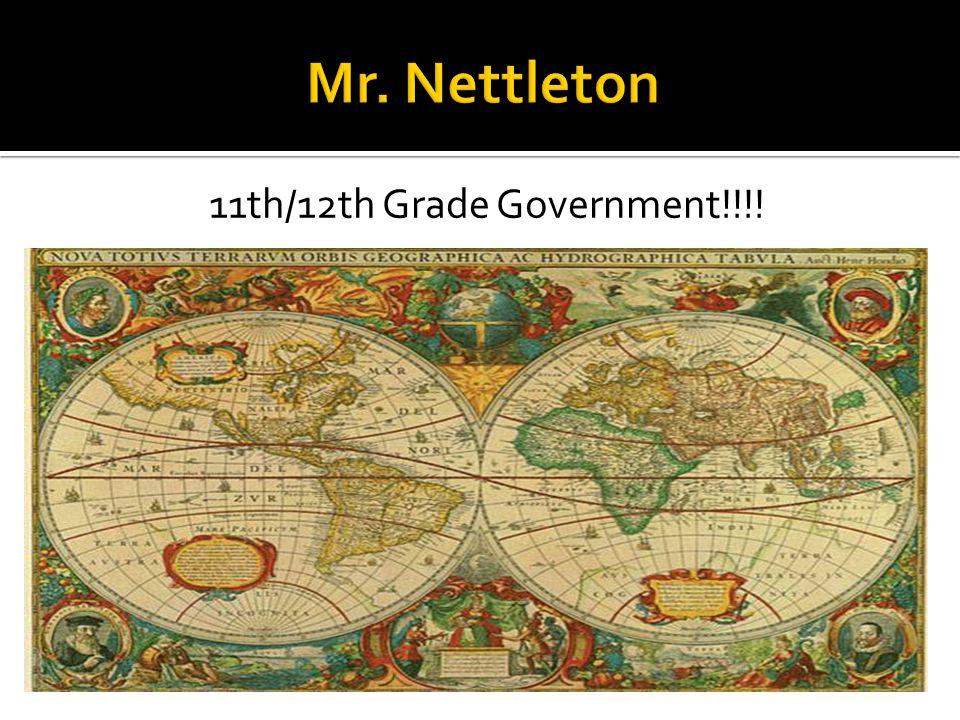 11th/12th Grade Government!!!!