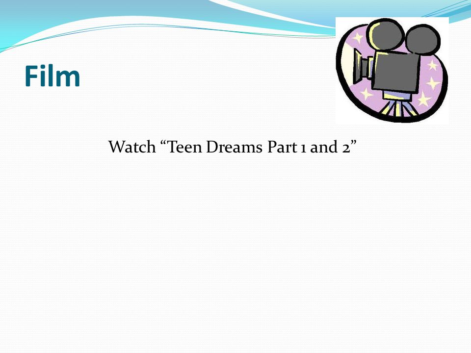 Film Watch Teen Dreams Part 1 and 2