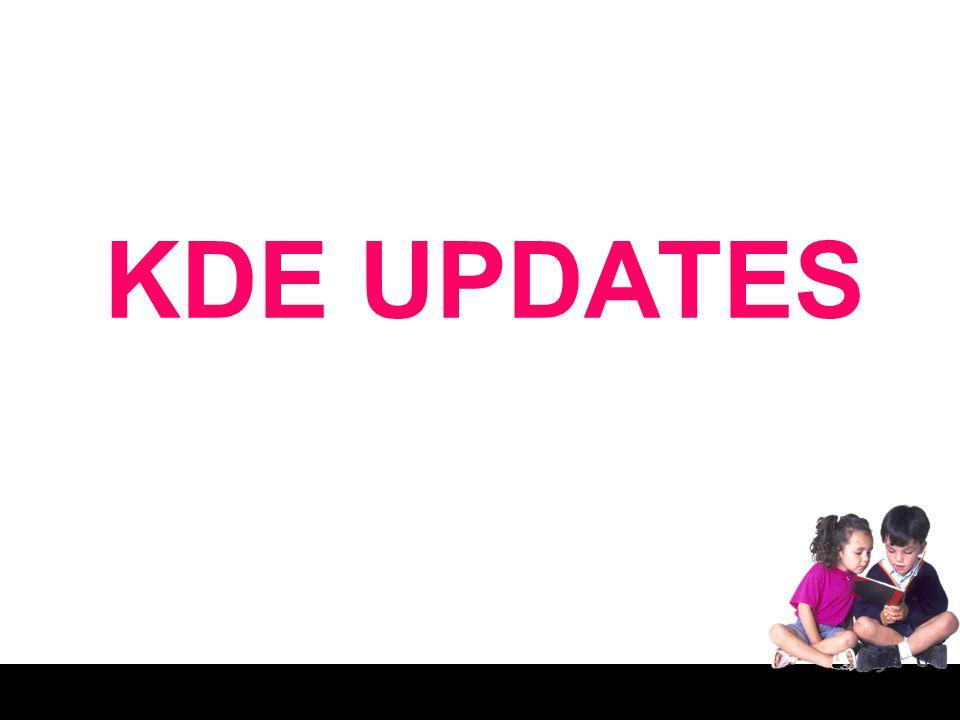 KDE UPDATES