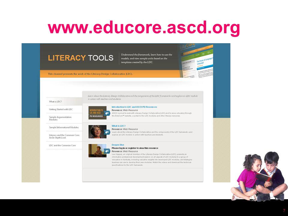 www.educore.ascd.org 7