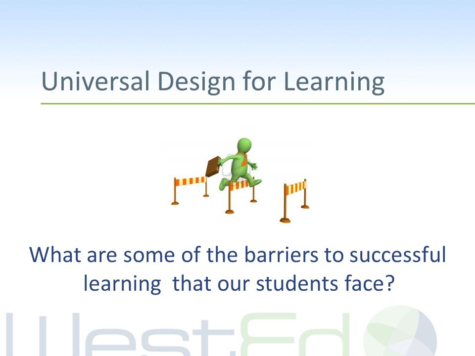 What are the internal and external barriers that keep our students, and ourselves, from striving towards our goals.