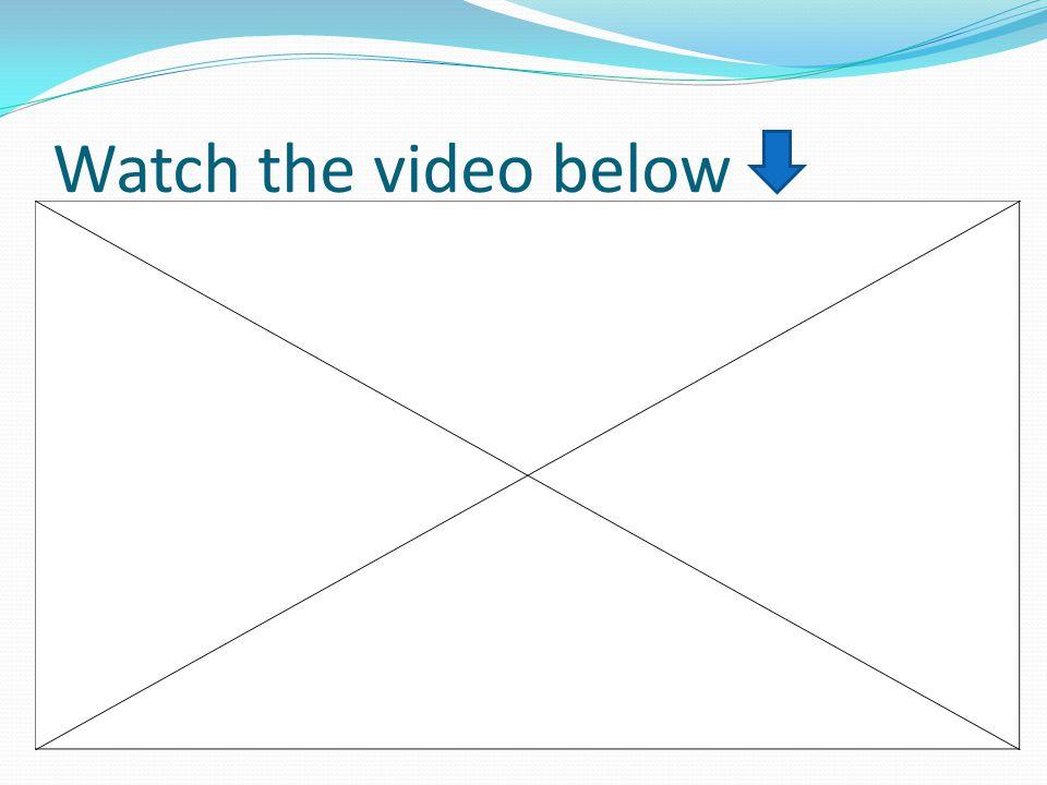 Watch the video below