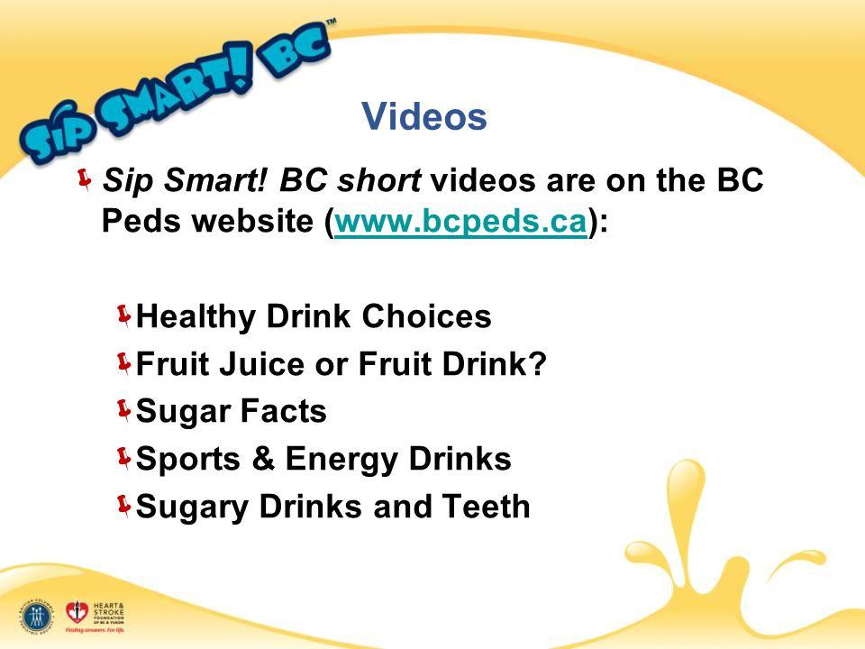Videos  Sip Smart.