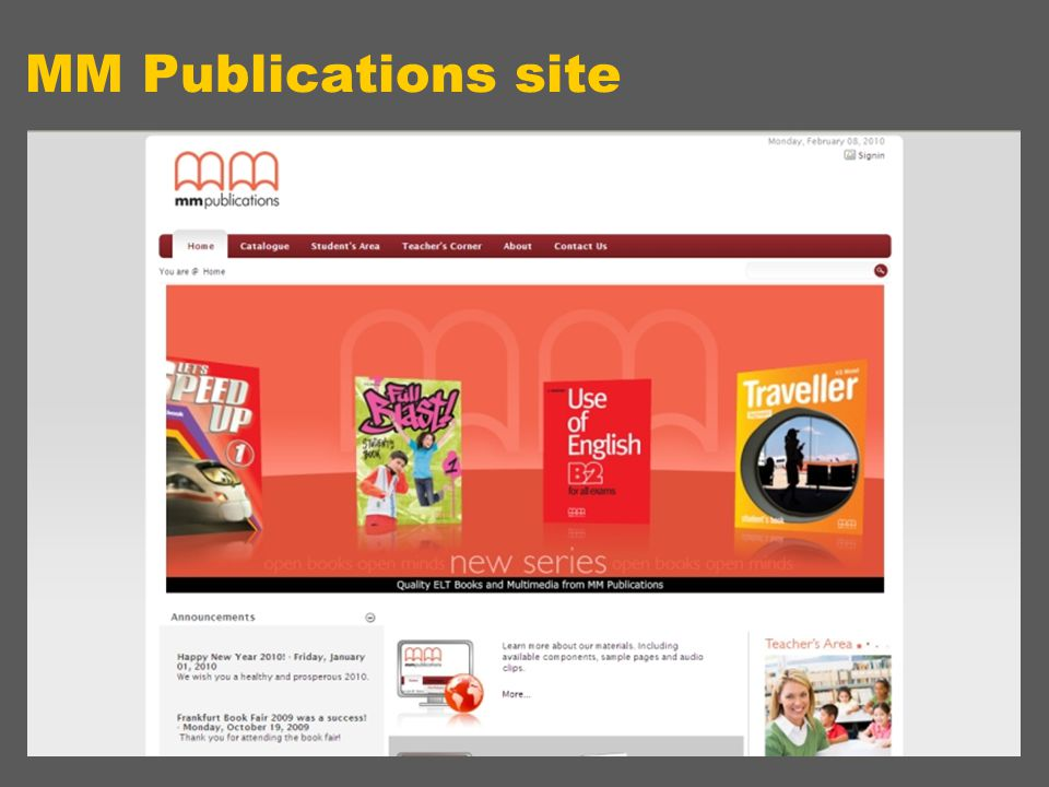 MM Publications site