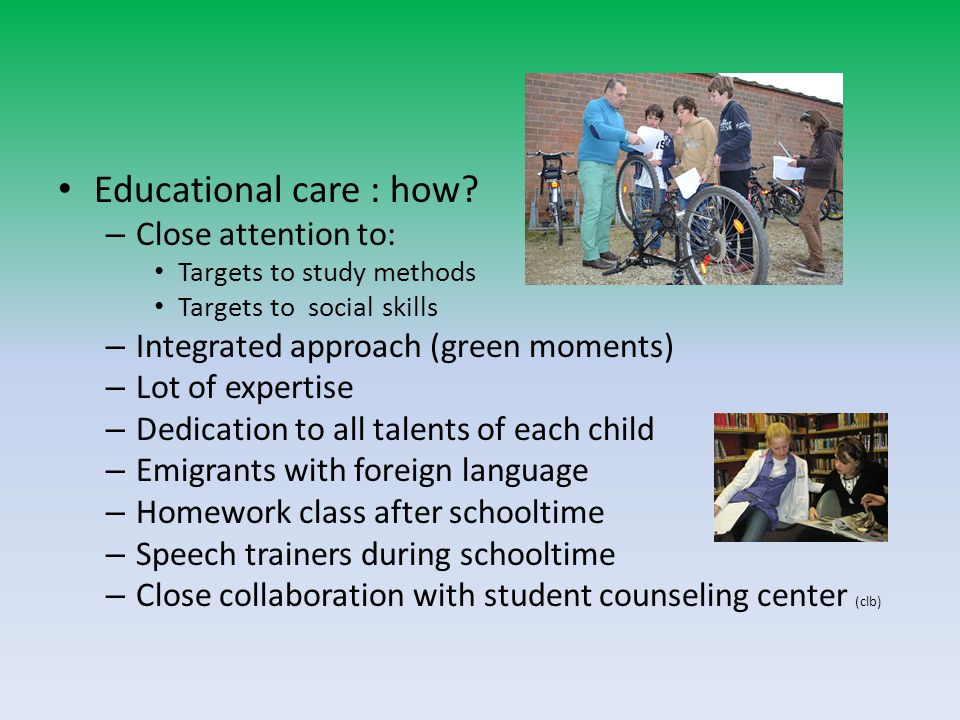 Educational care : how.