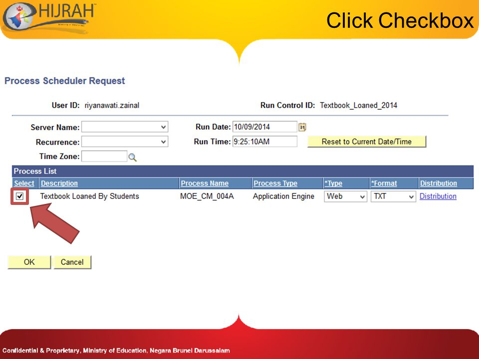 Click Checkbox