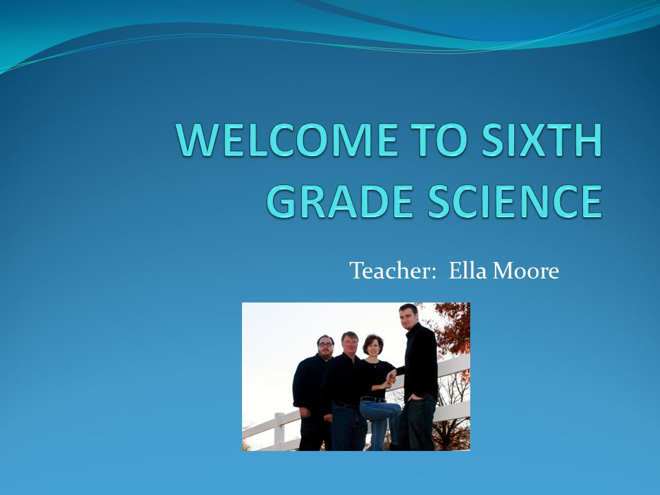 Teacher: Ella Moore