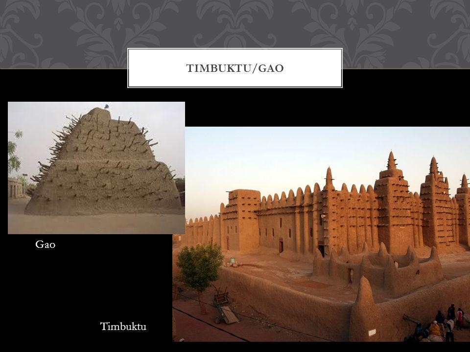 TIMBUKTU/GAO Timbuktu Gao