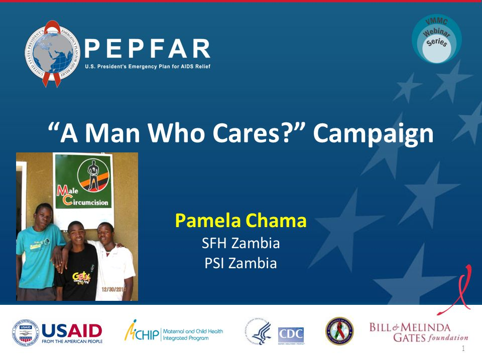 A Man Who Cares? Campaign Pamela Chama SFH Zambia PSI Zambia 1