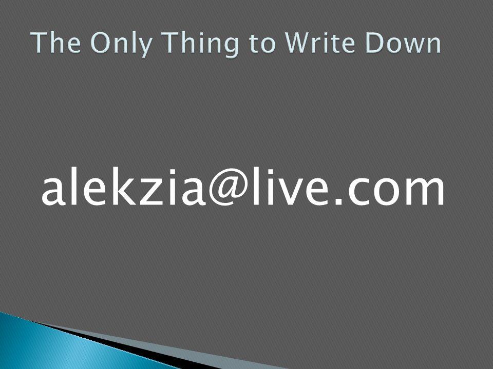 alekzia@live.com