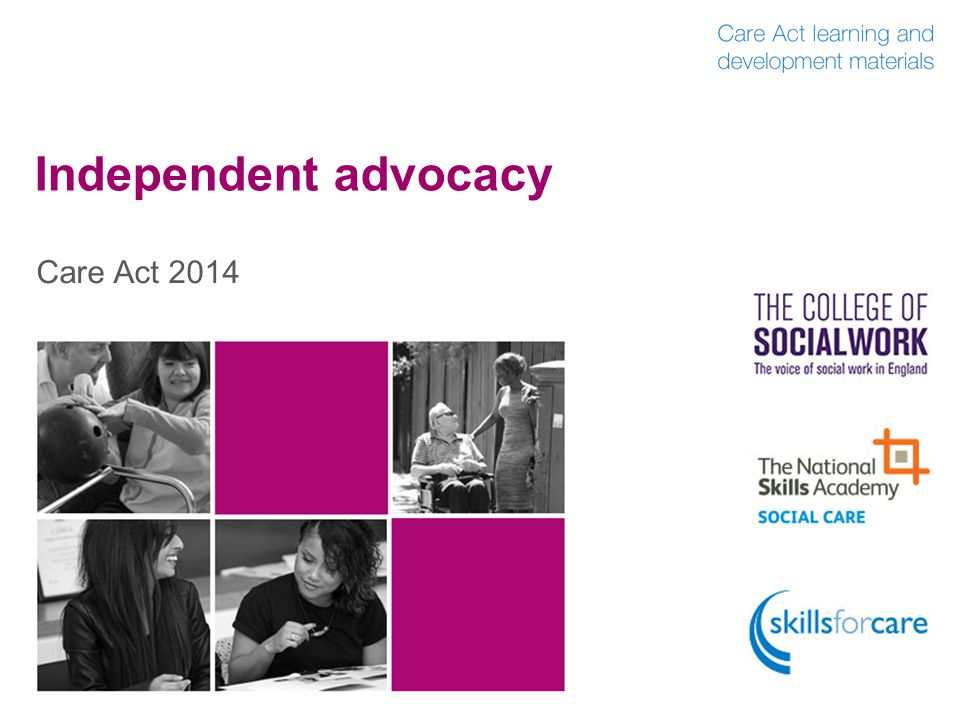 Independent advocacy Care Act 2014