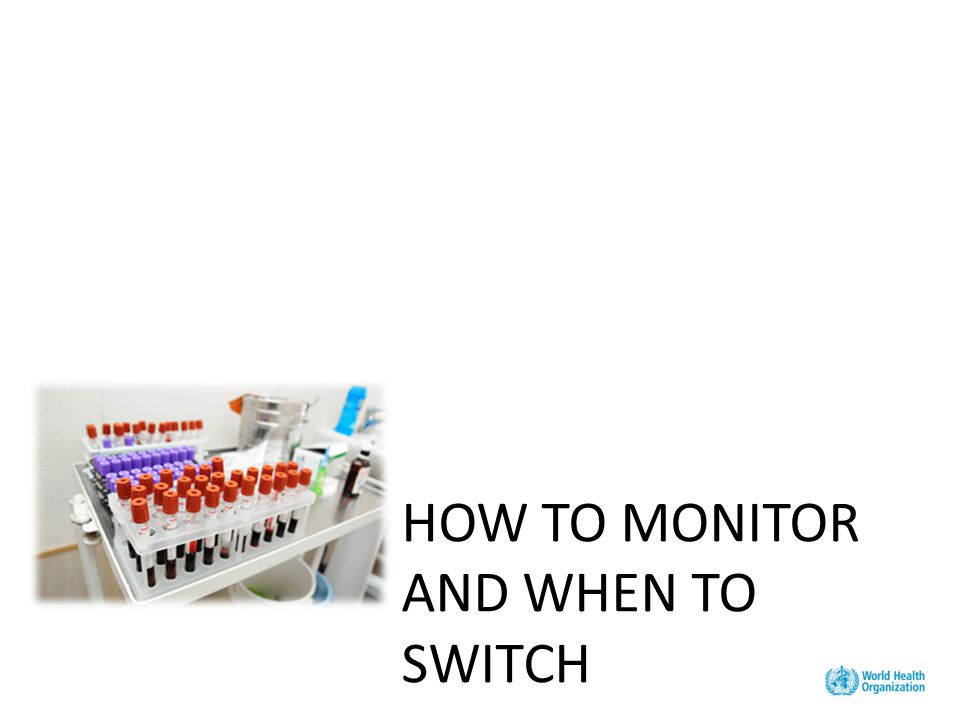 HOW TO MONITOR AND WHEN TO SWITCH