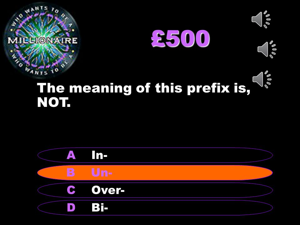 £200 What is the meaning of the prefix, Mid-.