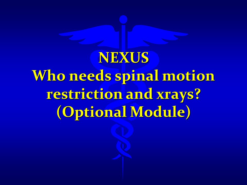 NEXUS Definition: Altered neurologic function 1) GCS 14 or less 2) disoriented to person,place,time,events 3) inability to remember 3 objects at 5 min.