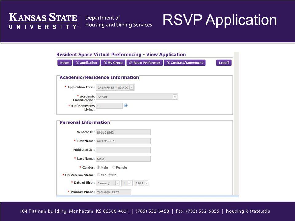 RSVP Application