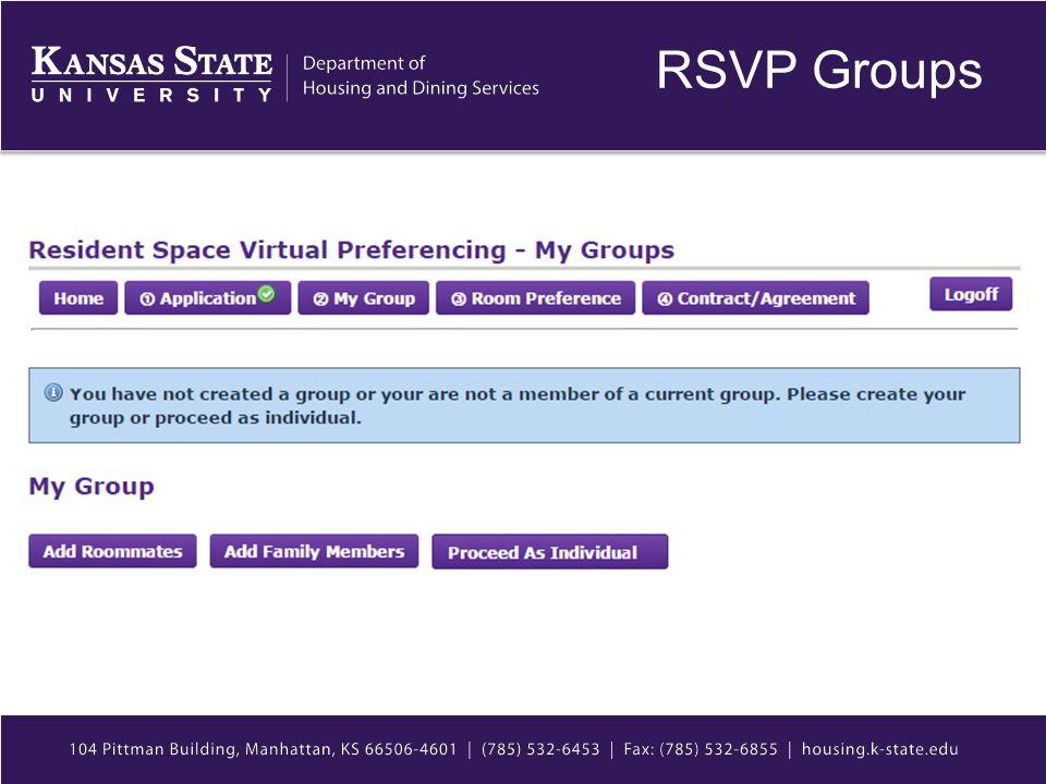 RSVP Groups