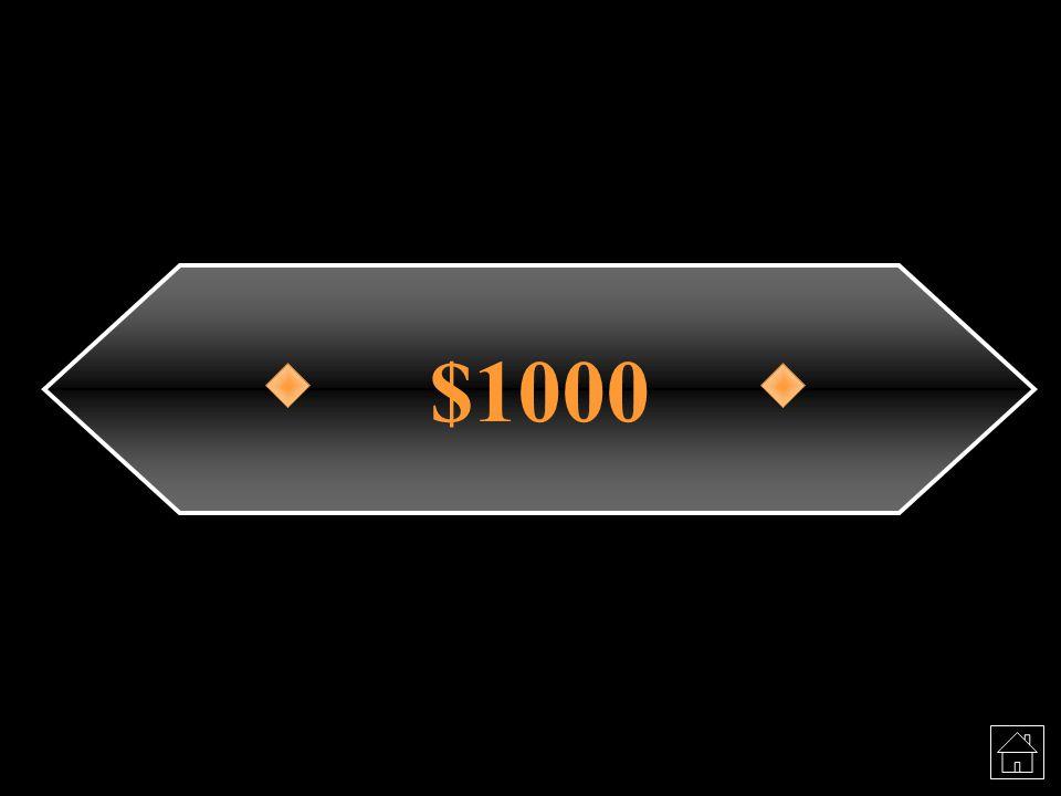 $1000