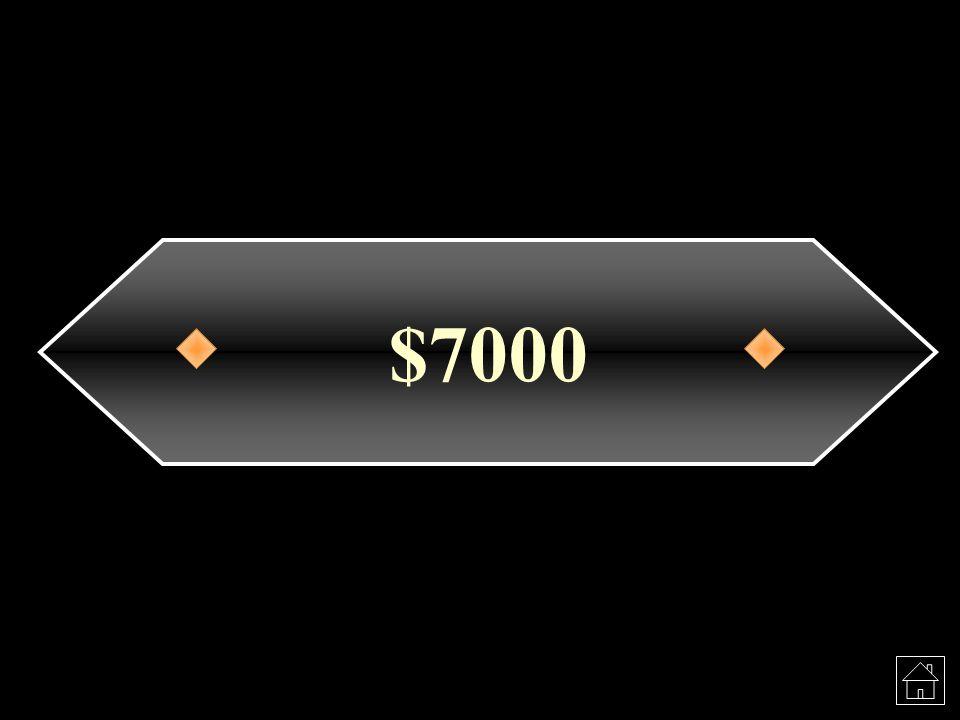 $7000
