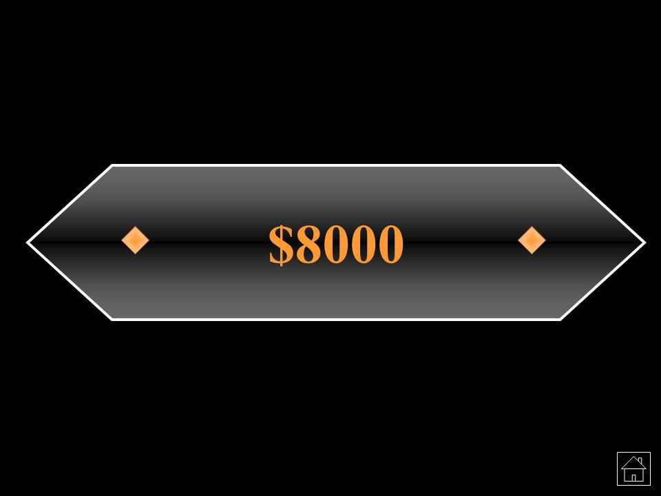 $8000