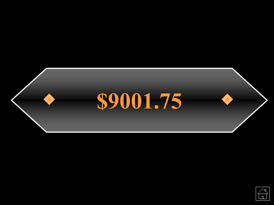 $9001.75