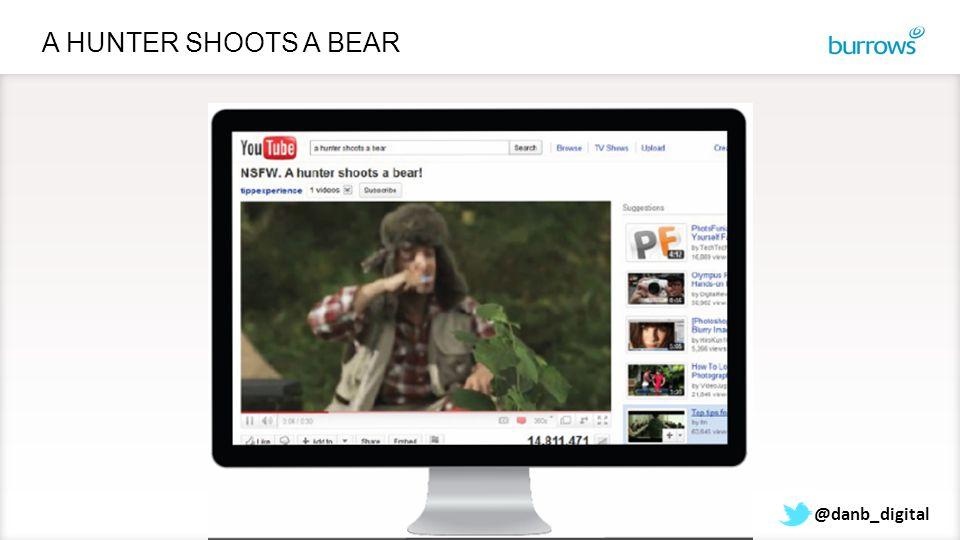 @danb_digital A HUNTER SHOOTS A BEAR