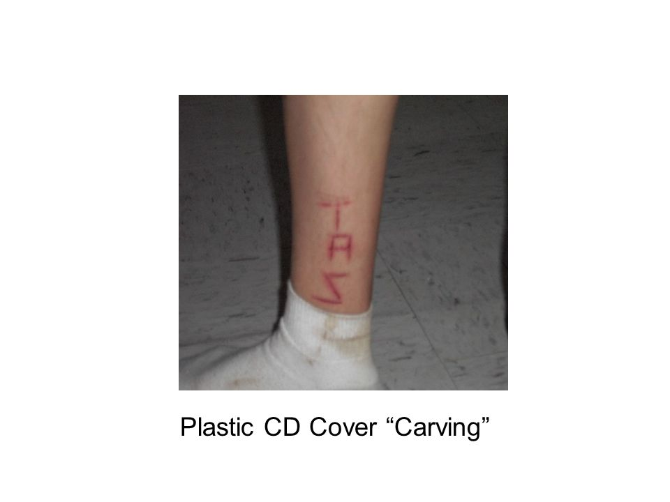 "Plastic CD Cover ""Carving"""
