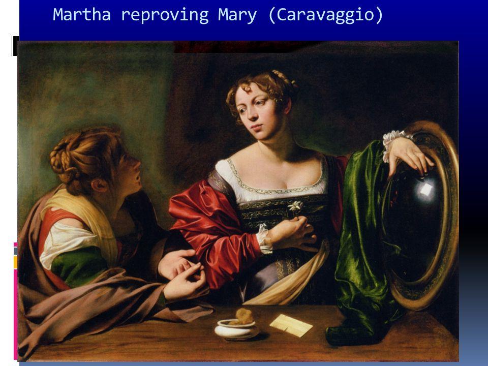 Martha reproving Mary (Caravaggio)