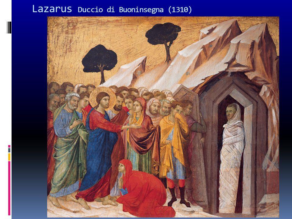 Lazarus Duccio di Buoninsegna (1310)