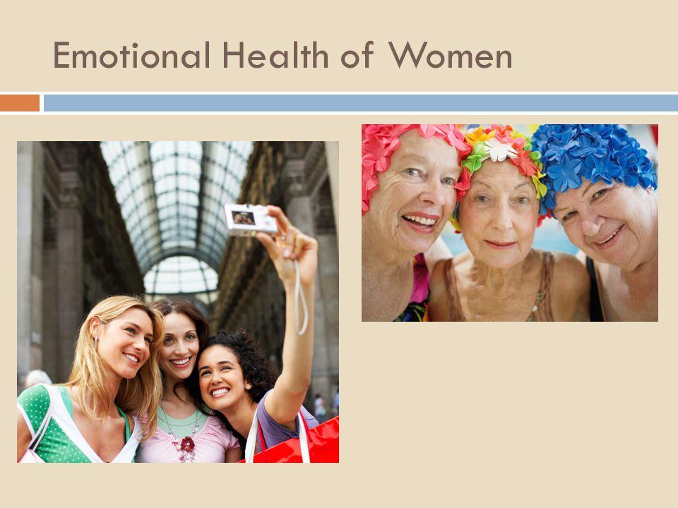 Emotional Health of Women