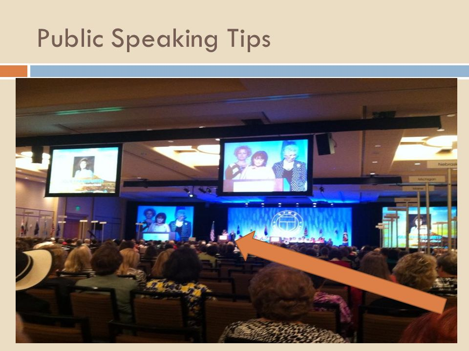 Tip #1- tell great stories