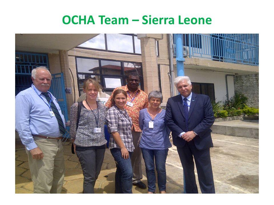 OCHA Team – Sierra Leone