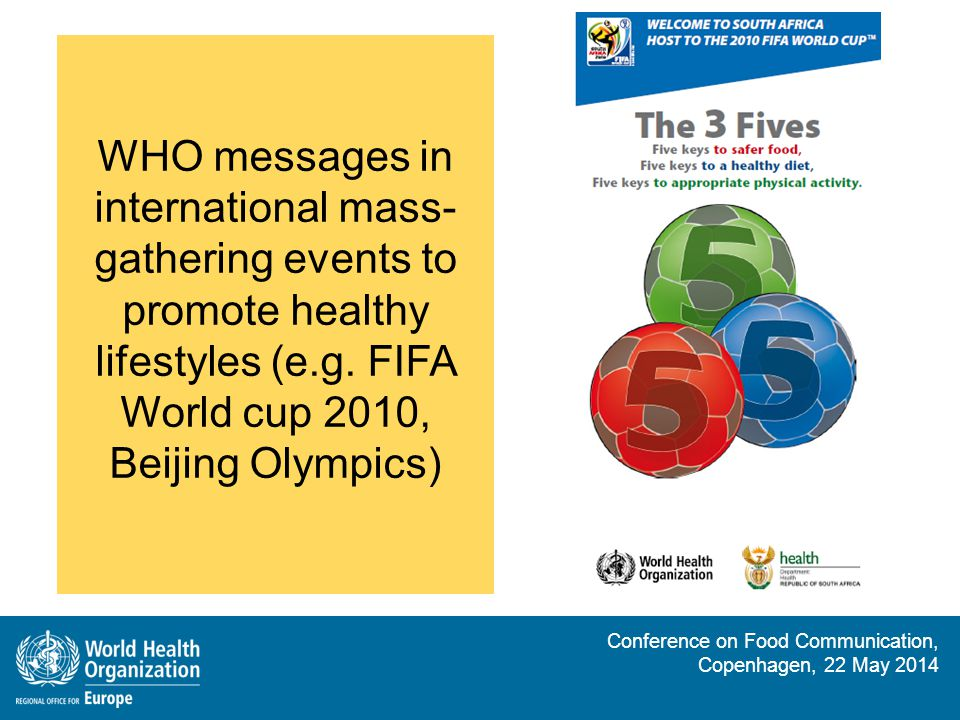 Conference on Food Communication, Copenhagen, 22 May 2014 Five keys to growing safer fruits and vegetables