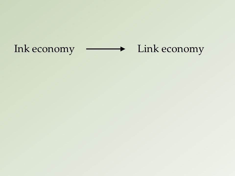 Ink economyLink economy
