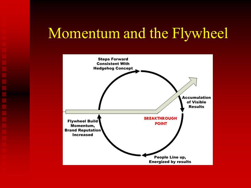 Momentum and the Flywheel