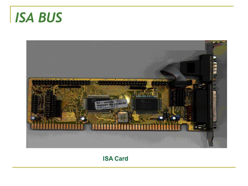 ISA BUS ISA Card
