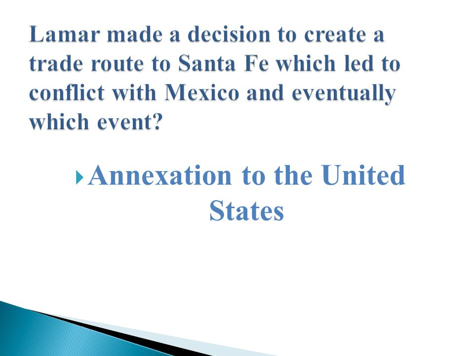  Annexation to the United States