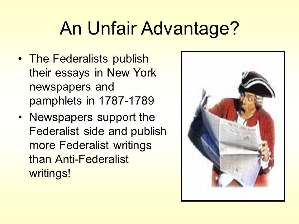 An Unfair Advantage.