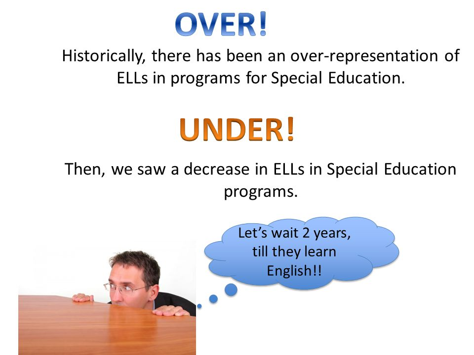Let's wait 2 years, till they learn English!!